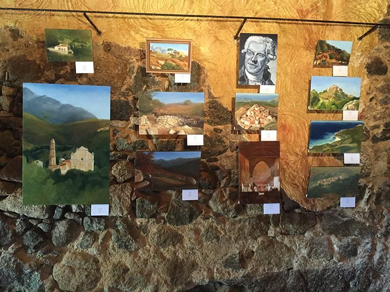 Exposition à la Galerie A - Sant'Antonino - Corse