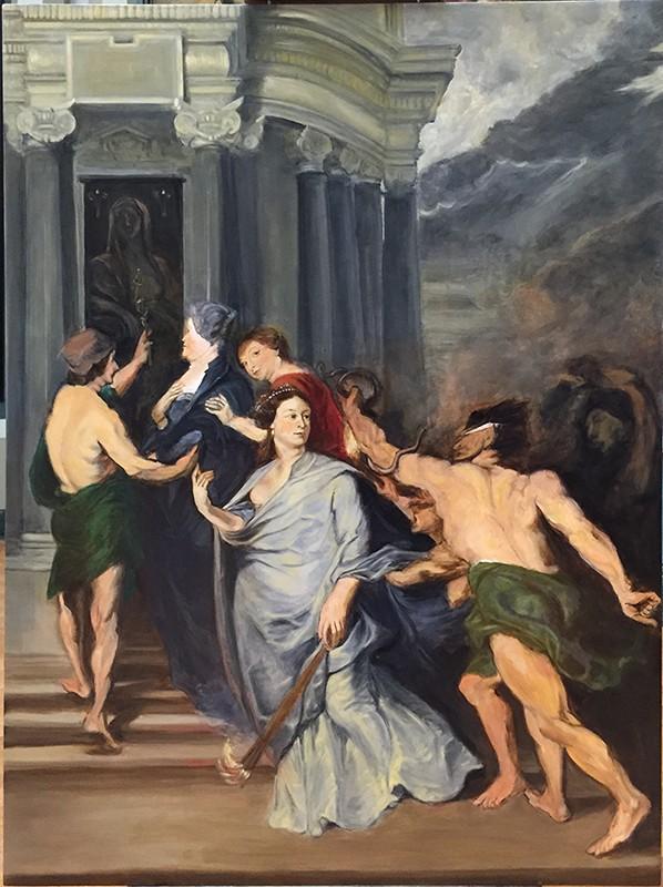 Les Copistes au Louvre