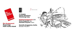 4e Workshop Urban Sketchers Naples/Ischia 2017