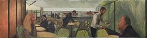 Série : les terrasses de café parisiennes