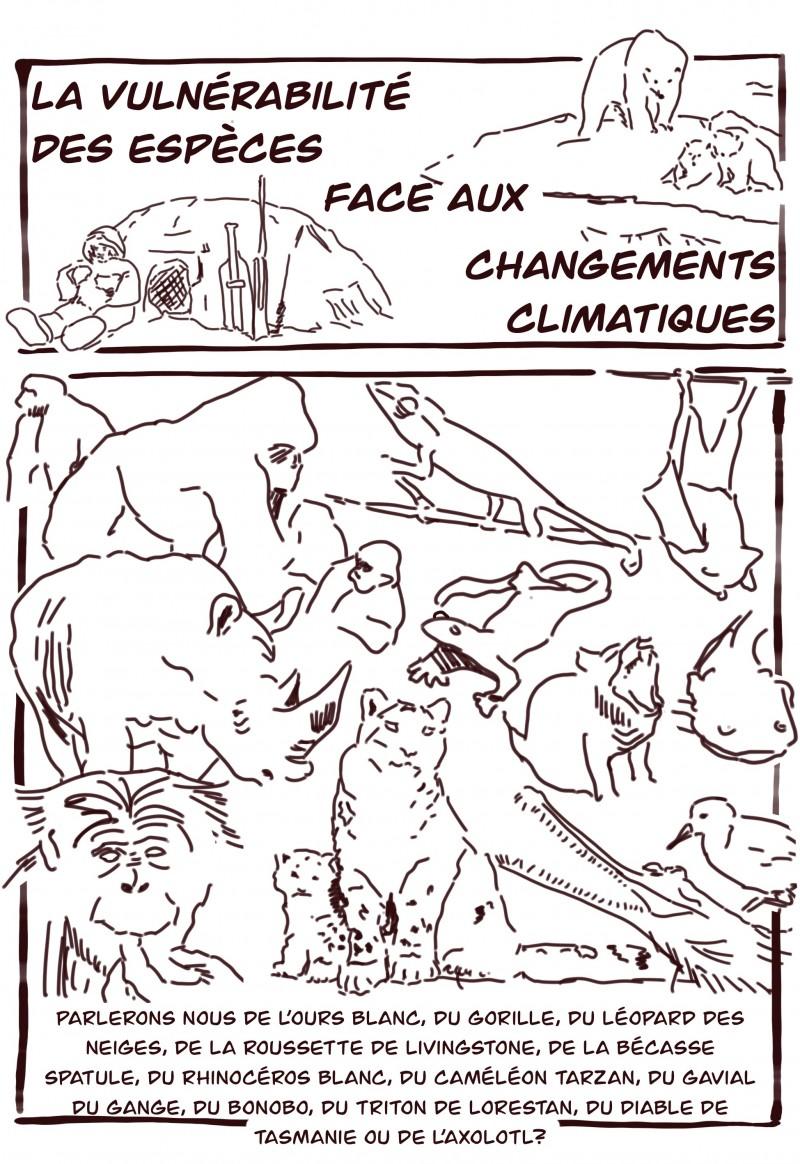 La vulnérabilité des espèces face au changement climatique